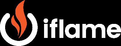 iflame logo white400px